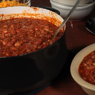 Chipotle, Beef, and Bean Chili