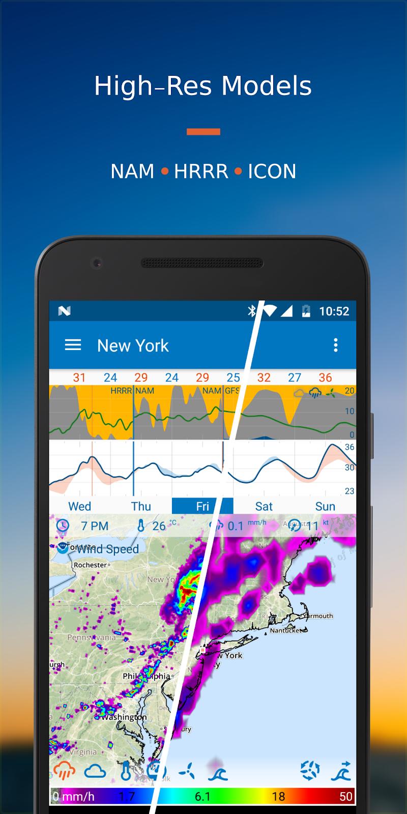 Flowx: Weather Map Forecast Screenshot 2