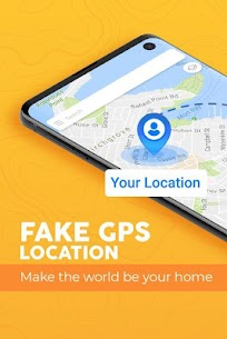 Fake GPS location Joystick – Location Changer 1