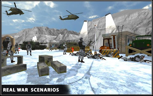 Snow War Shooter 2017- screenshot thumbnail