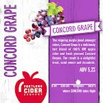 Portland Cider Concord Grape