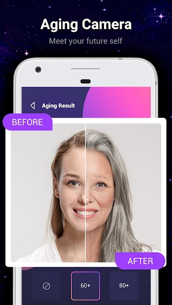 Horoscope Me - Face Scanner, Palm Reader, Aging Android App Screenshot