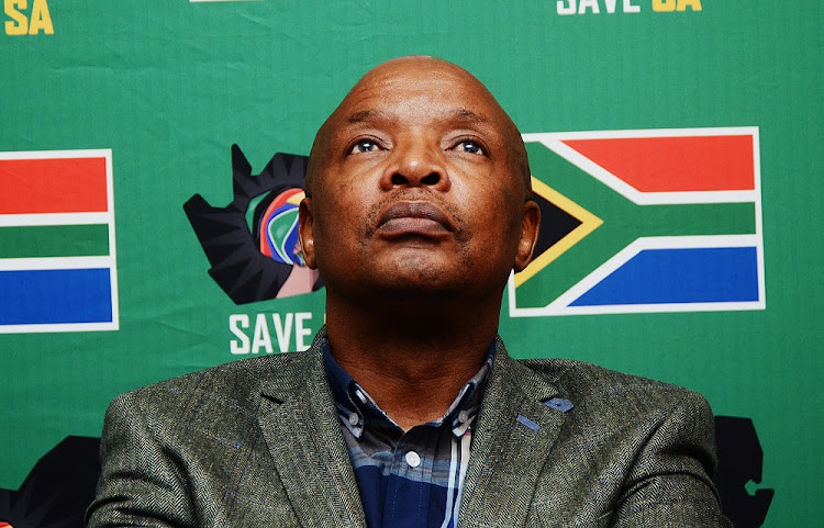 An open letter by Sipho Pityana to Sandile Zungu has upped the ante in the rivalry between the pro-Zuma and pro-Ramaphosa camps. Picture: SOWETAN/MDUDUZI NDZINGI