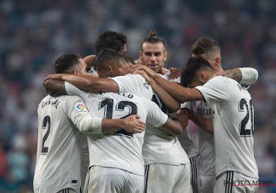 Real Madrid schaart zich bij de laatste vier