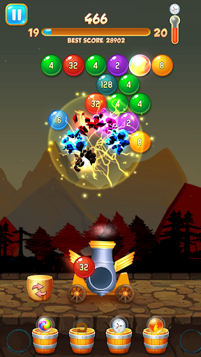 Happy Bubble For Tik Tok: Bubble Shooter Merge android2mod screenshots 3