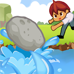 Skipping Stone Clicker Icon