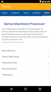 Samco Machinery- screenshot thumbnail