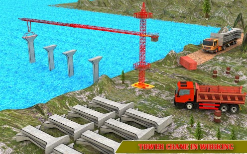 River Bridge Construction: Road Builder - náhled