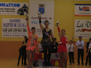 Photo: podium juvenil femenino