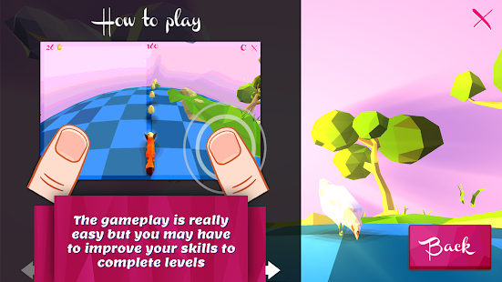 Good Morning Fox : runner game Screenshot