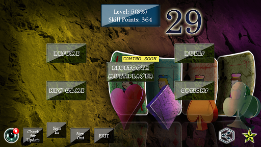 29 Card Game  captures d'écran 1