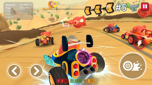 Starlit On Wheels: Super Kart  screenshots 1