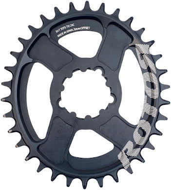 Rotor Q-Ring Boost Direct Mount Oval Chainring: SRAM Cranks alternate image 4