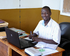 Photo: Mugabi is my contact for the younger sponsored children