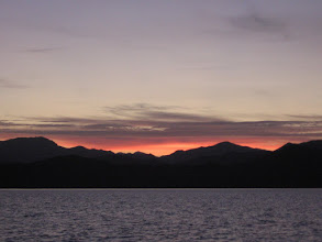 Photo: Dawn as we left Payne Bay