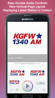 Screenshot of KGFW 1340AM