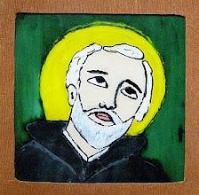 Photo: Na szkle malowane. Praca konkursowa, 2001 r. Kinga, lat 12. Nagroda w kat. wiek. klas 4 - 6. III miejsce.