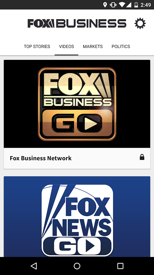 Fox Business- screenshot