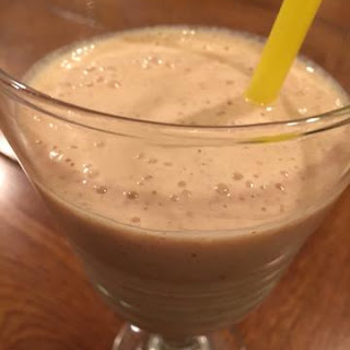 Power Fruit Smoothie with Organic Flax   Yum Recipe