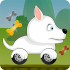 Car Racing game for Kids - Beepzz Dogs icon