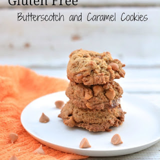 Gluten Free Butterscotch and Caramel Cookies