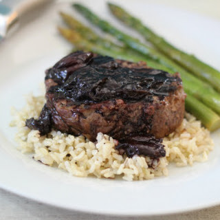 Filet Mignon with Cherry Sauce