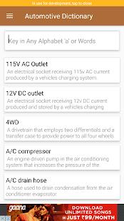 Automotive Dictionary - náhled