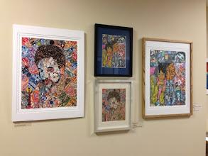 Photo: Artwork by Les Sher Art exhibition at Weissman Center
