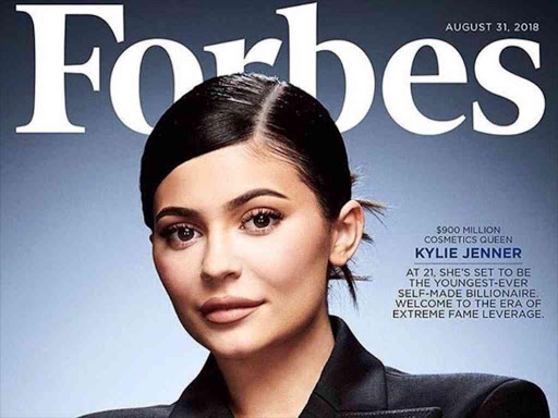 """Forbes said it valued her company at nearly $800 million and that Jenner owns 100 percent of it."" /COURTESY"