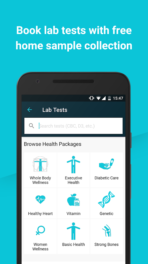 1mg - Medicines, Health tests, Doctor consultation – Screenshot