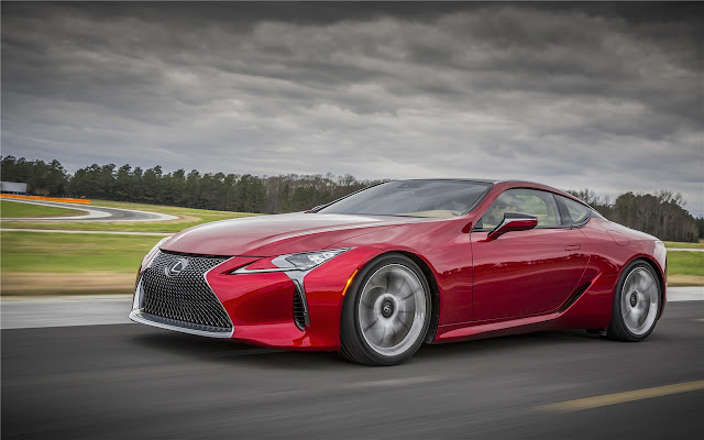 LEXUS LC Themes & New Tab