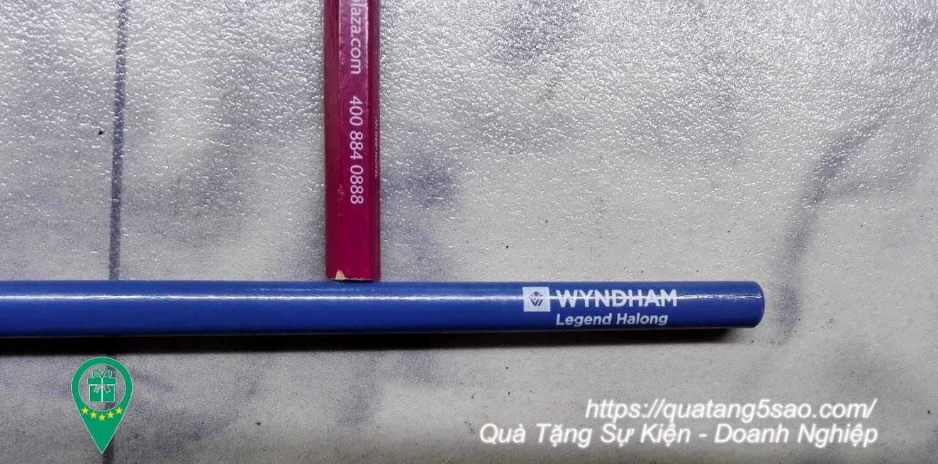 Bút chì thân tròn in logo theo yêu cầu