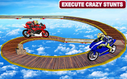 Racing Moto Bike Stunt : Impossible Track Game  captures d'u00e9cran 1