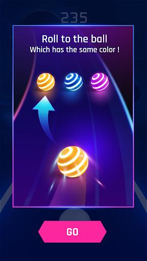 Dancing Road: Colour Ball Run!  captures d'u00e9cran 4