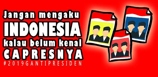 Mengenal Calon Presiden Dan Wakil Presiden 2019