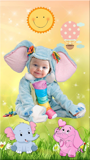 Cute Baby Photo Montage App ud83dudc76 Costume for Kids 1.1 screenshots 2