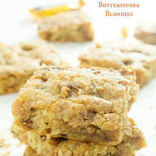 Butterfinger Blondies.
