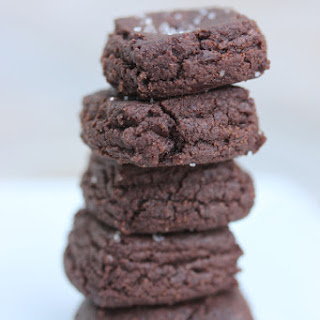 Chocolate Sables.