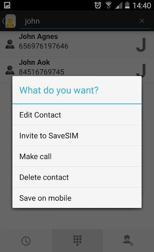 玩免費通訊APP|下載SaveSIM - 전화 번호부 app不用錢|硬是要APP