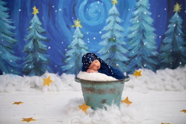 Foto de recém-nascido