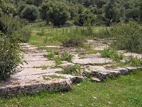 Photo: Andriake, the Agora over the cistern ........... Agora boven het waterreservoir.