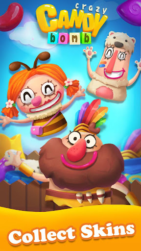 Crazy Candy Bomb - Sweet match 3 game apkdebit screenshots 5