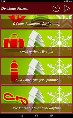 android Christmas Fitness Holidays Screenshot 6