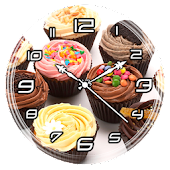 Cupcake Clock Live Wallpaper Android APK Download Free By Lo Siento
