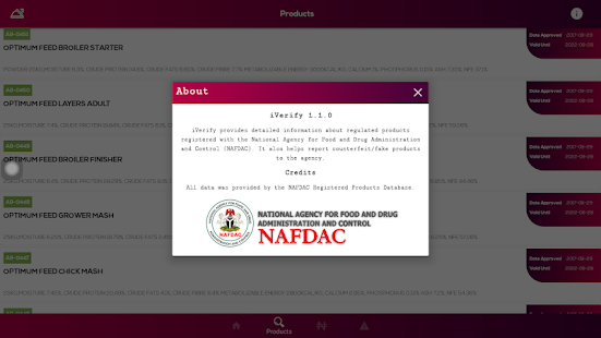 App iVerifyApp for NAFDAC products verification APK for Windows Phone
