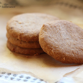 Paleo Shortbread with Coconut Flour