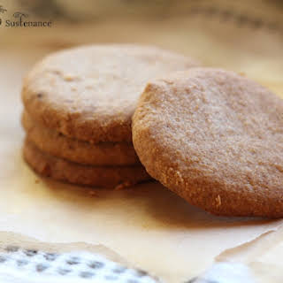 Paleo Shortbread with Coconut Flour.
