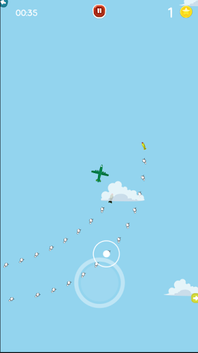 Go Fight Plane - Escape Missiles Attack! 2.0 screenshots 6