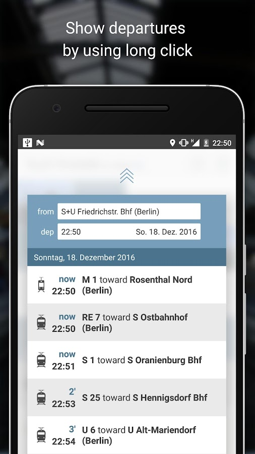 Touch-Timetable- screenshot