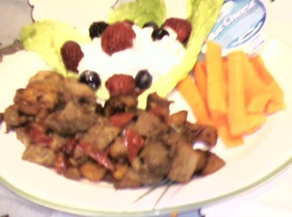 Pam's Pork Roast And Sweet Potato Hash Recipe